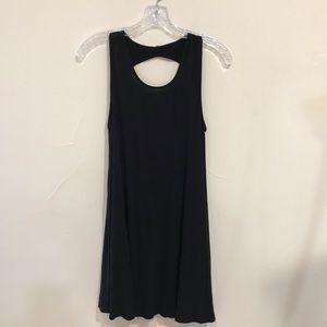 American Eagle black knit shift dress